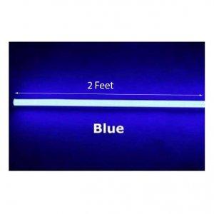 blue colour tube light