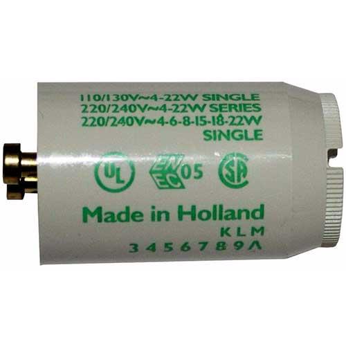 Philips Fluorescent Starter 110/130V 4W