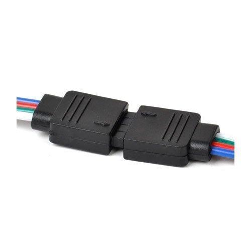 Veekaylight 1 Pair 4 Pin Rgb Connector
