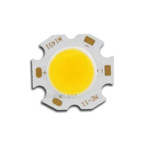 3W 20mm Star COB Neutral White