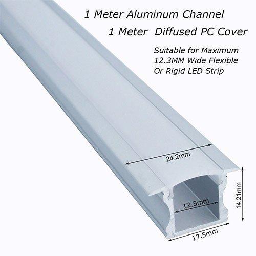 VEEKAYLIGHT 6-Pack 3.3 ft/1 Meter Deep Conceal