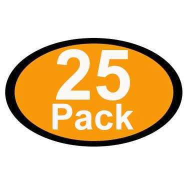 Pack of 25