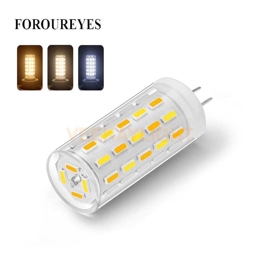 VEEKAYLIGHT 220V G4 LED Bulb 5W 3 Color Temperature Adjustable