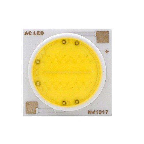 VEEKAYLIGHT Ceramics Base AC 220V 9W 14mm COB DOB Chip White